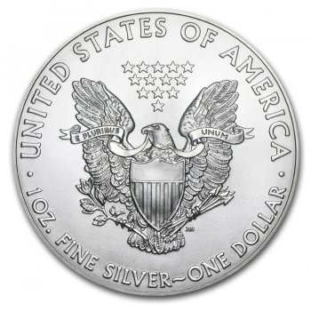1 oz American Silver Eagle Reverse