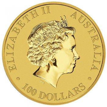 1 oz Australian Gold Kangaroo Obverse