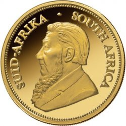1 oz South African Gold Krugerrand Obverse