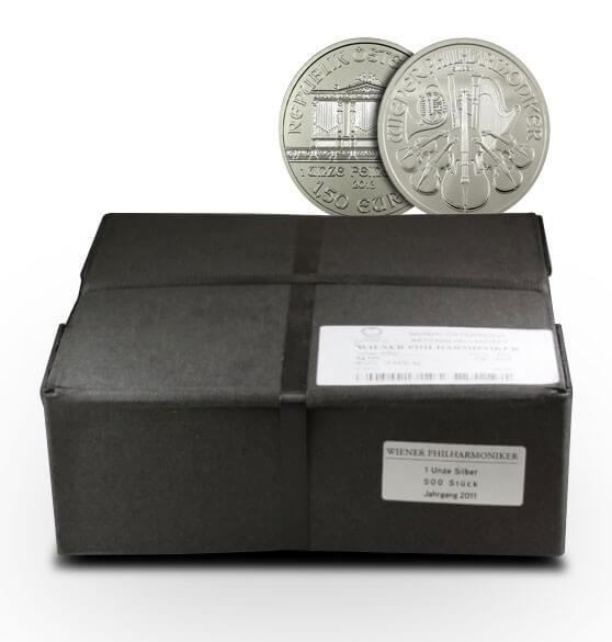 Austrian Silver Philharmonic Monster Box