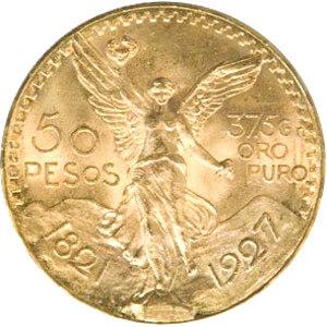 Mexican 50 Peso Gold Coin