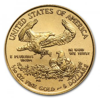 1/10 oz American Gold Eagle Reverse