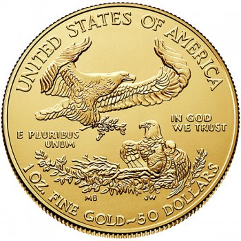 1 oz American Gold Eagle Reverse