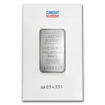 1 oz credit suisse palladium bar