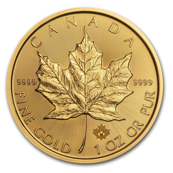 2016 1 oz Canadian Gold Maple Leaf