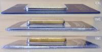 Fake 1 oz PAMP Gold Bar Comparison
