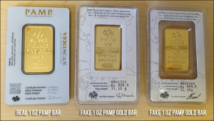 Beware Of Fake Gold Bars Veldt Goldveldt Gold
