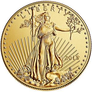 1/4 oz American Gold Eagle Obverse