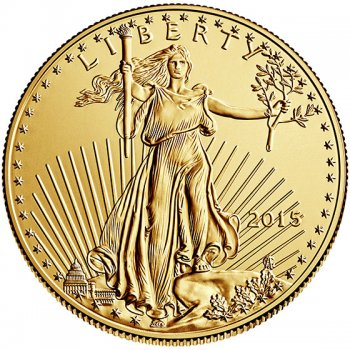 1/4 oz American Gold Eagle Obverse