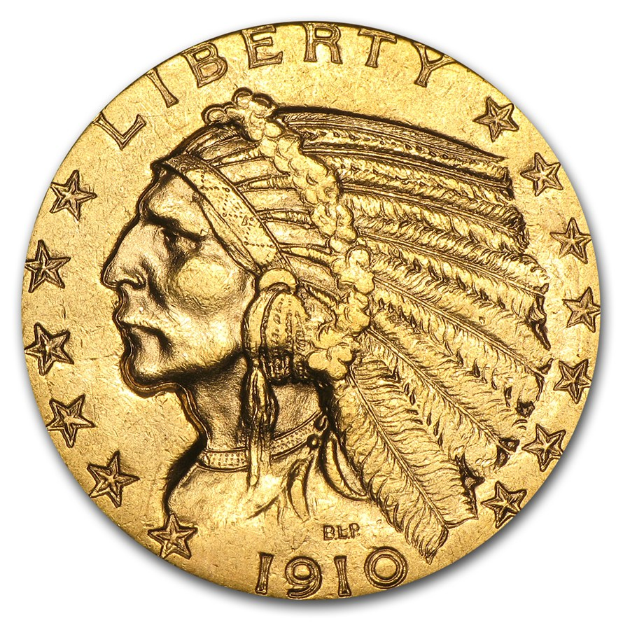 Buy 5 Indian Head Gold Half Eagle Buy Gold With