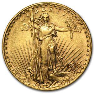 Saint Gaudens Gold Double Eagle Obverse