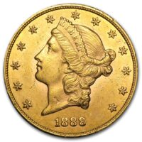 $20 Liberty Gold Double Eagle Obverse