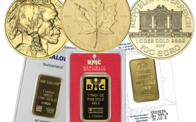 Bullion, Proof and Numismatic Coins