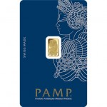 1 Gram PAMP Suisse Gold Bar Fortuna