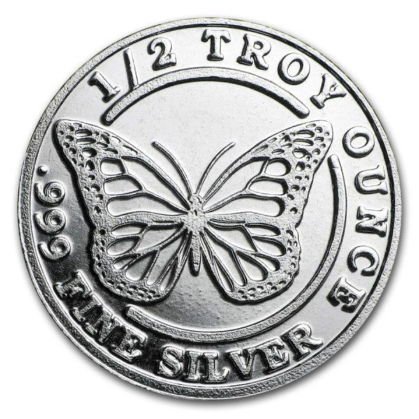 Half oz Fractional Silver Round