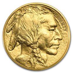 2019 1 oz American Gold Buffalo Obverse