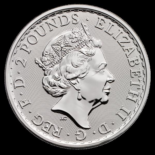 1 oz Great Britain Silver Britannia